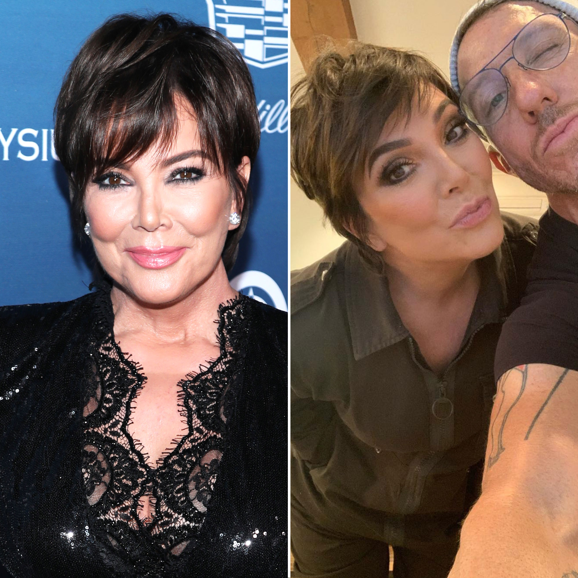 Kris Jenner Ellen DeGeneres and More Stars Have Debuted Fresh New Hairstyles - Busy guy! McMillan also cut Jenner's hair on March 20, giving her slightly choppier layers for added height.