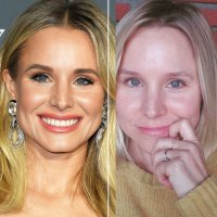 See Kristen Bell Makeup-Free in Blue Contacts and More Bare-Face Stars