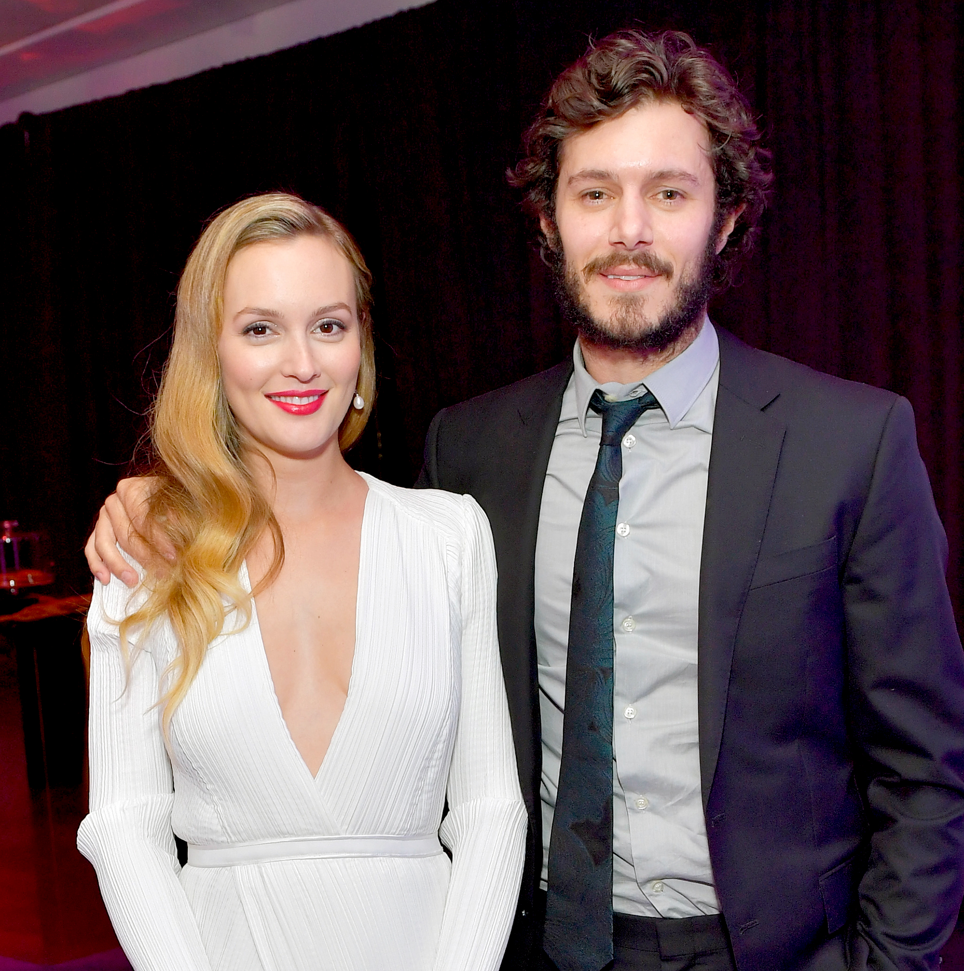 leighton-meester-adam-brody - Leighton Meester and Adam Brody attend The 2017 InStyle and Warner Bros. 73rd Annual Golden Globe Awards Post-Party at The Beverly Hilton Hotel on January 8, 2017 in Beverly Hills, California.