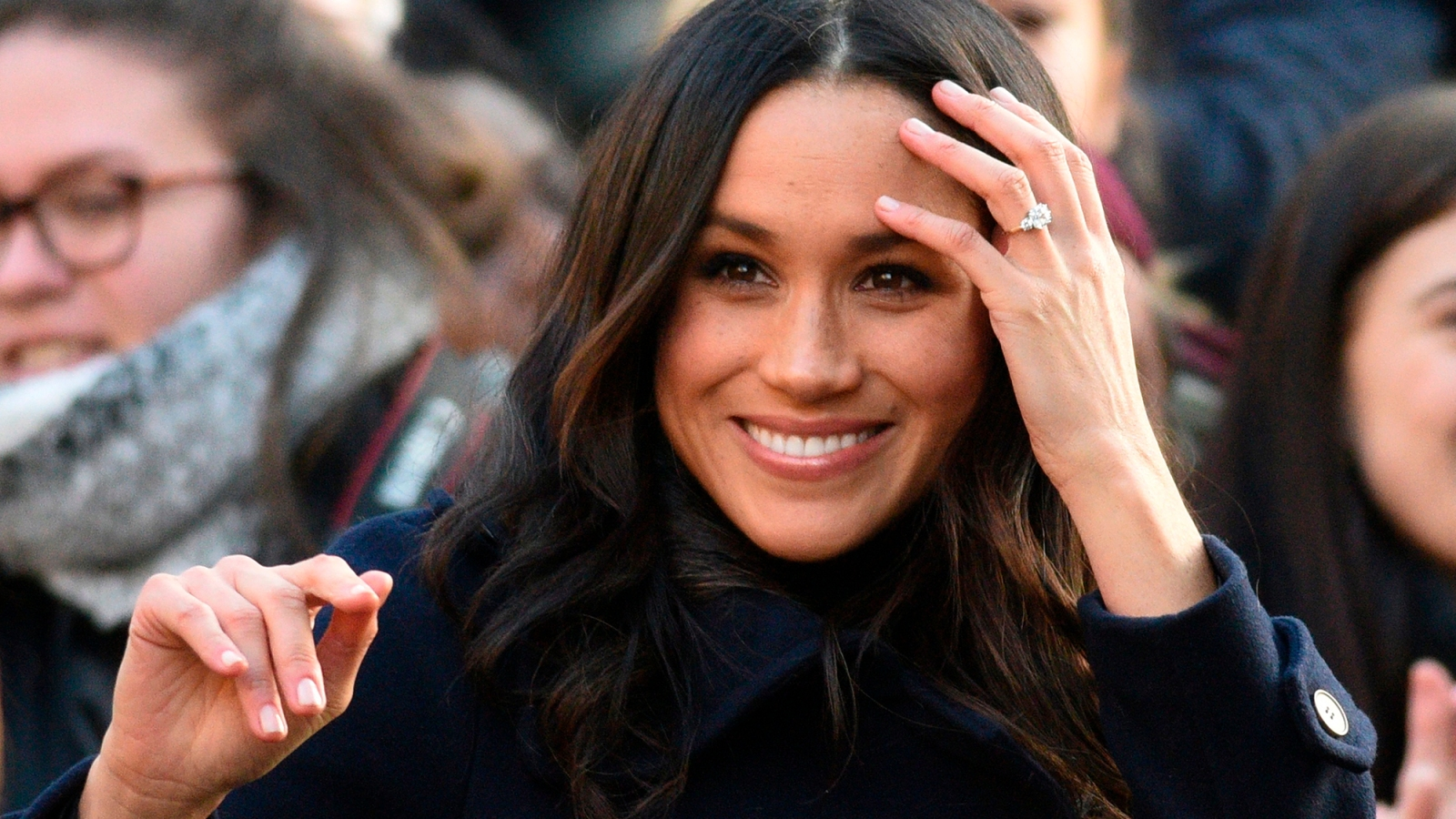 fe8732036f The Duchess Meghan Markle Engagement Ring Replica Is on Sale at Jewlr