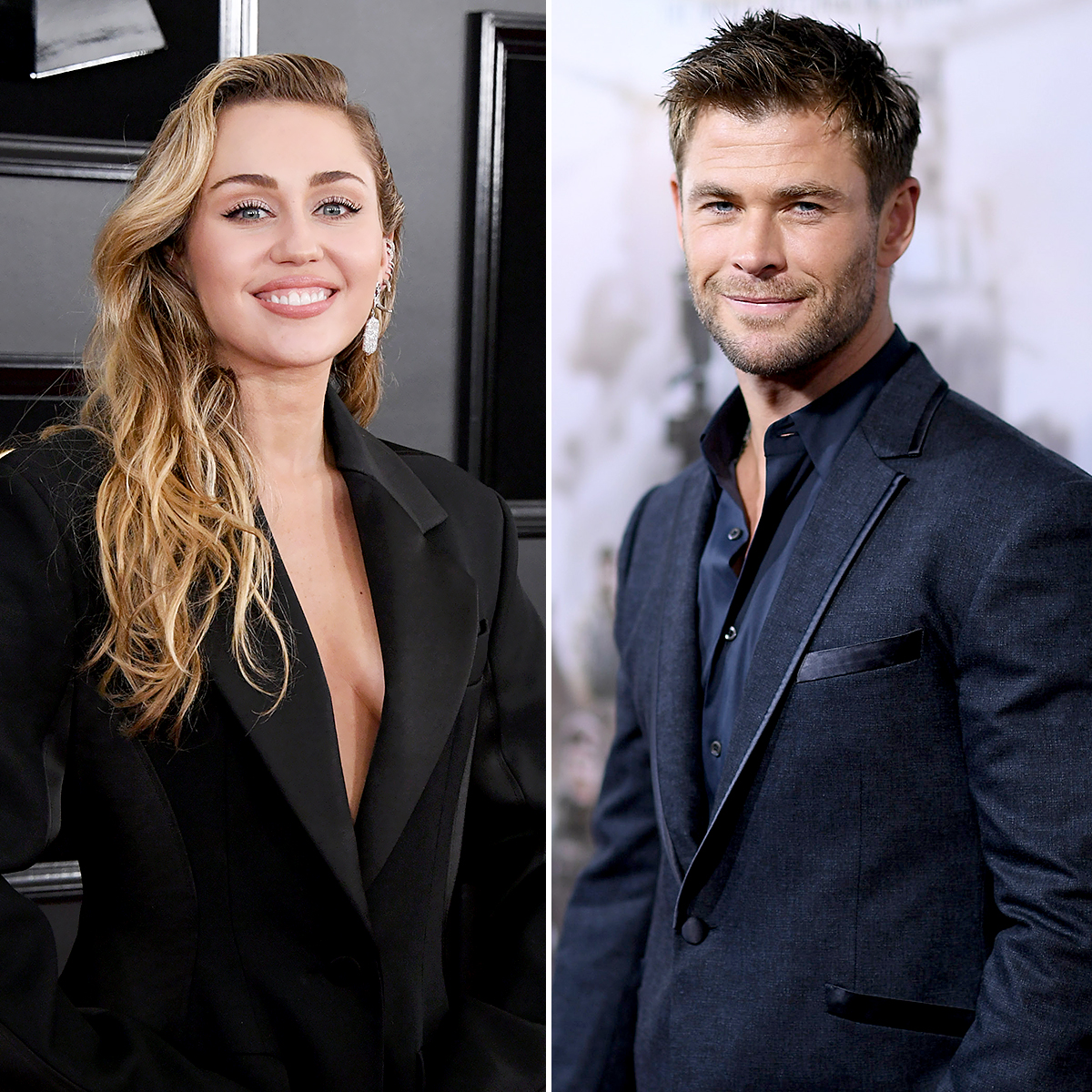 "miley-cyrus-chris-hemsworth - A Miley fan! Hemsworth proved just how much he adores his sister-in-law when he hilariously danced to her hit ""Wrecking Ball"" in a May 2018 Instagram video."