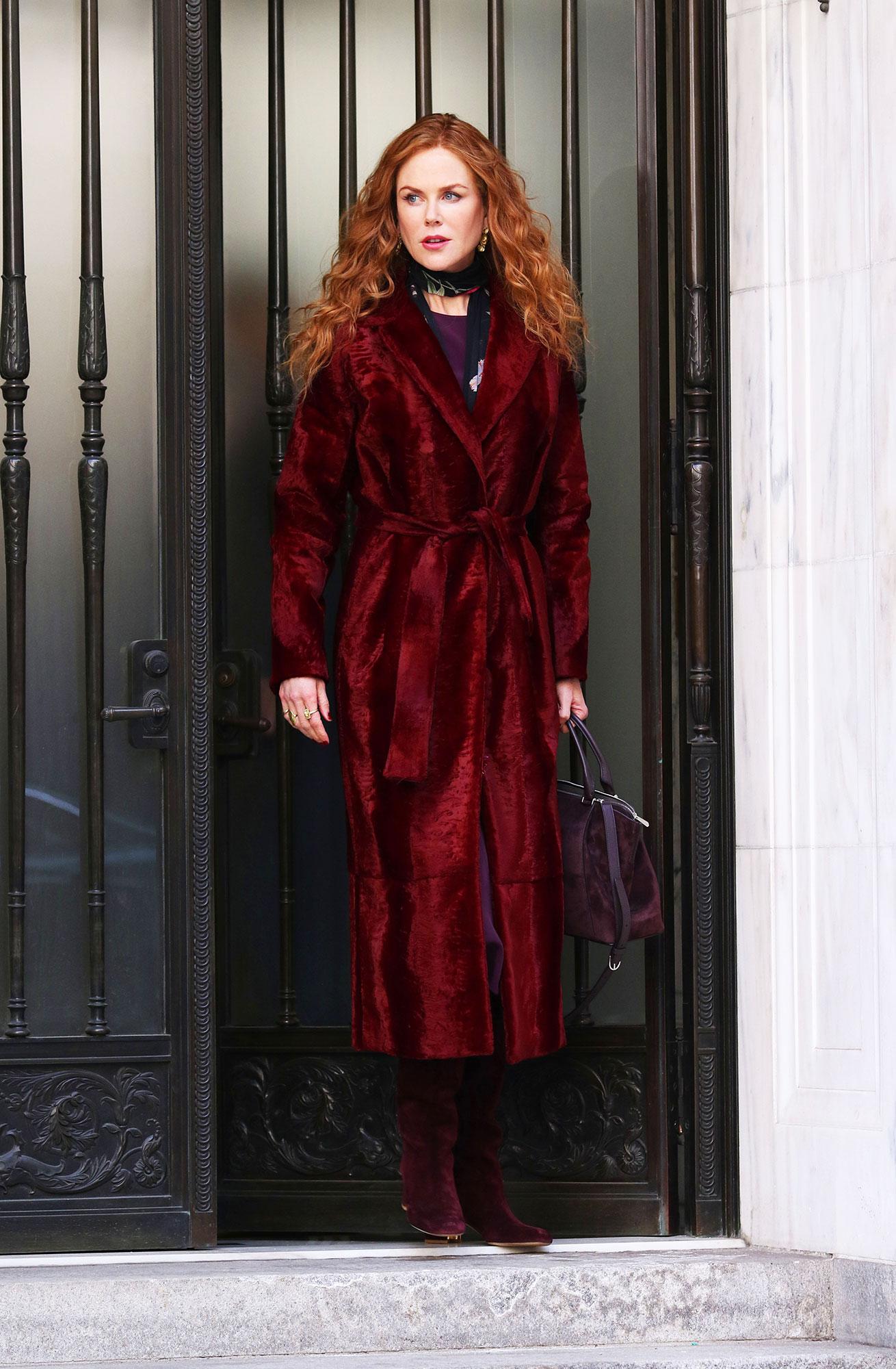 Nicole Kidman Goes Fire Engine Red, Plus Other Major Celeb Hair Changes - Nicole Kidman