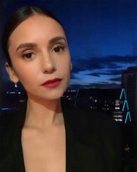 Nina Dobrev's Makeup Pro Shares Sneaky Tip for Softer Red Lipstick