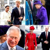 royal family celebrating Commonwealth Day at Westminster Abbey
