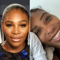 Serena Williams Glows in Makeup-Free Selfie with Baby, Copies Eva Longoria