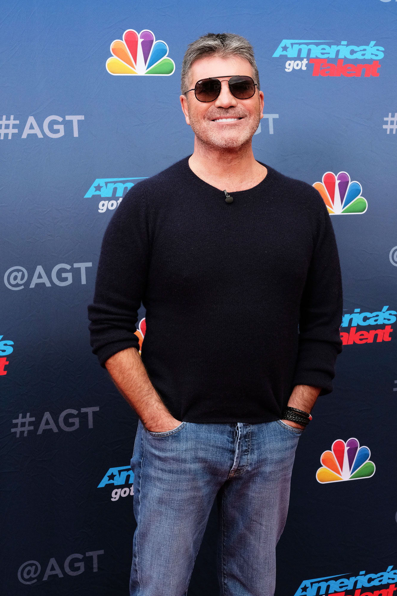 """simon cowell's son doesn't know he's famous - AMERICA'S GOT TALENT — """"Auditions"""" — Pictured: Simon Cowell"""