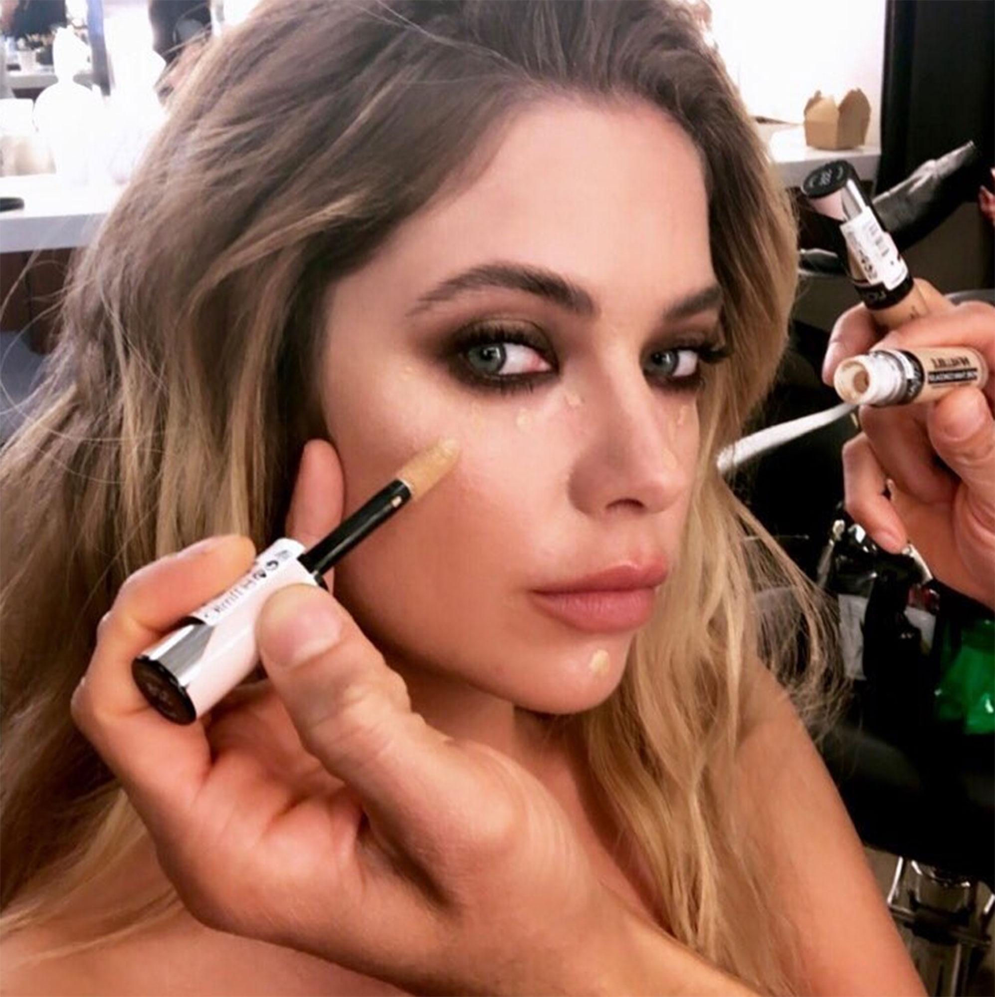 """5 Spring Beauty Tips From Beyonce¹s Makeup Artist Sir John - The best foundation is the one no one can tell you're wearing, and Sir John recommends everyone's makeup kit include a brush used solely for complexion perfection. """"I always like to have a huge brush to buff — it's like my magic eraser. I use it regardless of the foundation or tinted moisturizer to diffuse any lines,"""" he shares."""