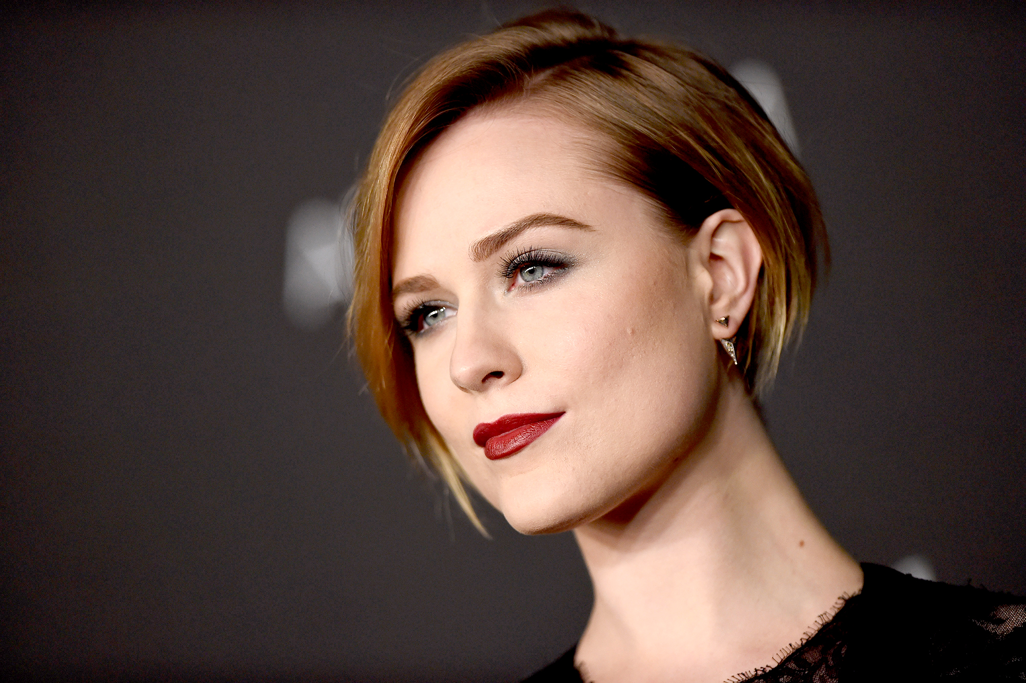 stars-that-survived-abuse - LOS ANGELES, CA – NOVEMBER 01: Actress Evan Rachel Wood attends the 2014 LACMA Art + Film Gala Honoring Barbara Kruger And Quentin Tarantino Presented By Gucci at LACMA on November 1, 2014 in Los Angeles, California. (Photo by Axelle/Bauer-Griffin/FilmMagic)