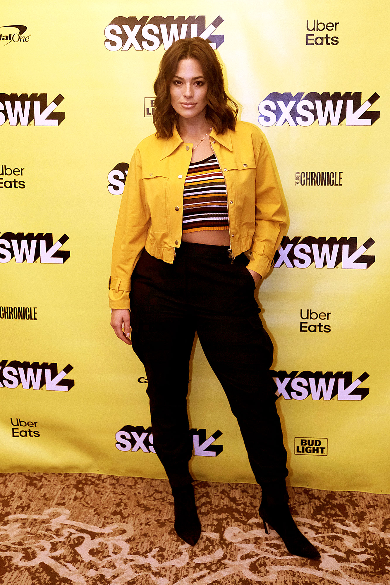 Ashley Graham Stars Were All About the Crop Top at Day 6 of SXSW - Ashley Graham attends Convergence Keynote: Bozoma Saint John during the 2019 SXSW Conference and Festivals at Hilton Austin on March 13, 2019 in Austin, Texas.