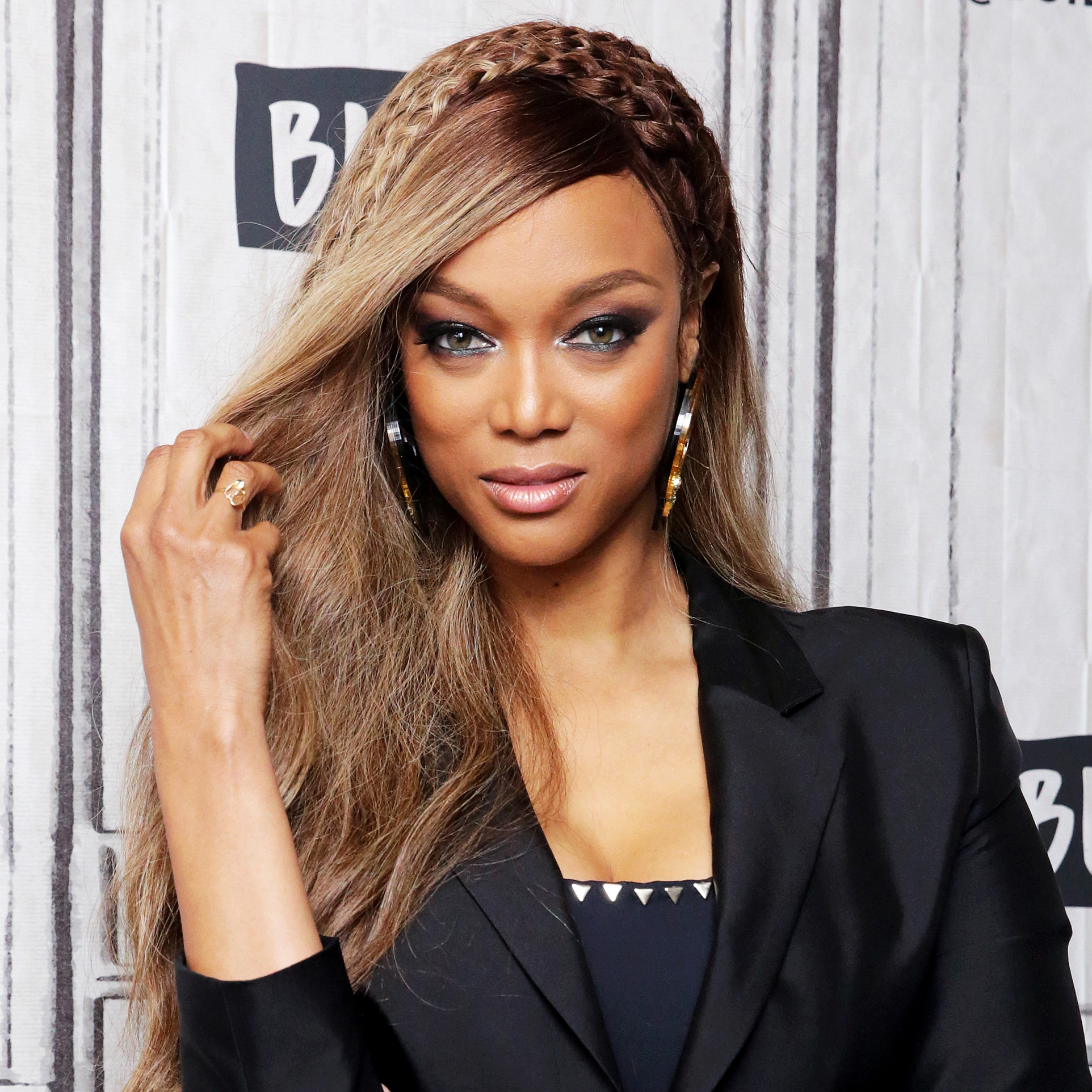 """tyra-banks - The supermodel dated a man who emotionally abused her and tried to break her down so he could be in control. She said that one day, she woke up and decided to end the relationship because """"when you're done, you know you're done,"""" as she revealed on her talk show in 2009."""