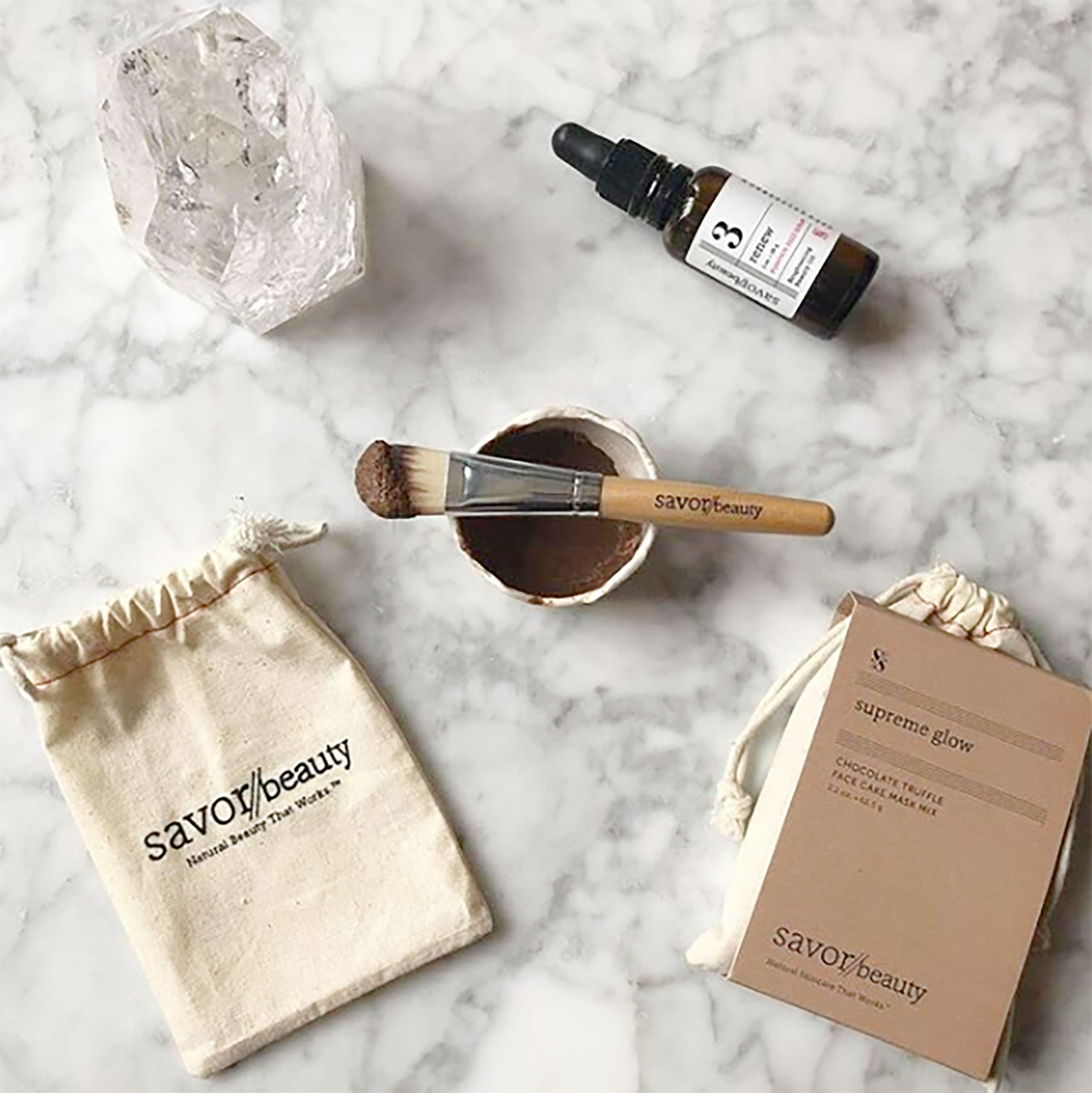 Women's History Month Gallery - The K-beauty-inspired natural skincare line is helping NYC women in need via its Face Cake for a Cause program, which gives a portion of the proceeds from its Face Cake products (like this decadent mask!) to local shelters. $35, savorbeauty.com