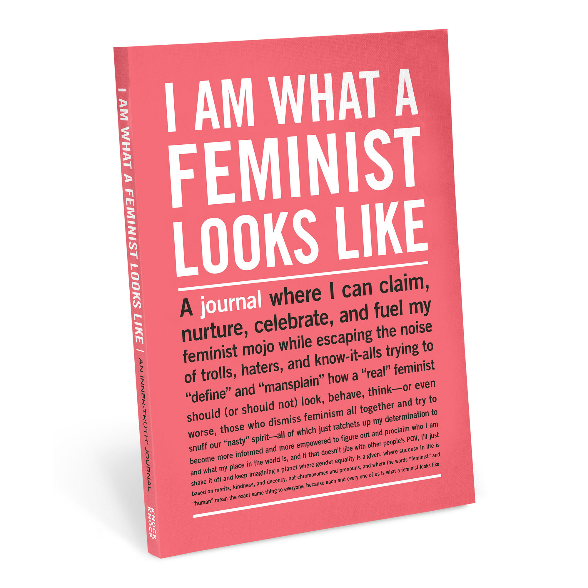 Women's History Month Gallery - Consider this #GirlPower notebook — which gives 51 percent of its proceeds to Time's Up — the grown-up edition to your favorite high-school journal. $16, knockknockstuff.com