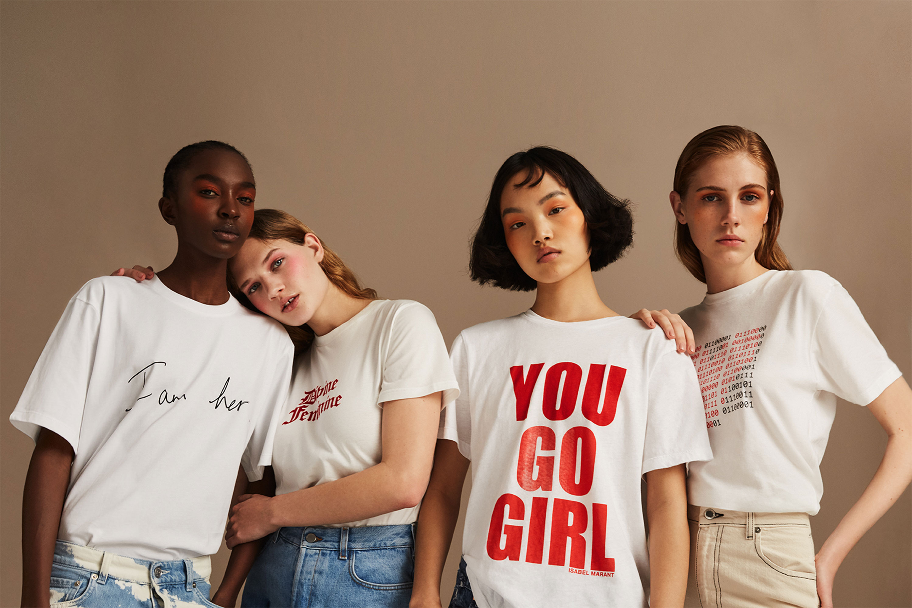 Net-a-Porter Is Here With a Star-Studded T-Shirt Collection for International Women's Day - Net-a-Porter Is Here With a Star-Studded T-Shirt Collection for International Women's Day