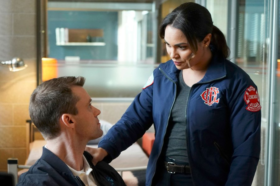 Jesse Spencer as Matthew Casey, Monica Raymund as Gabriela Dawson 'One Chicago' Exits That Left Fans Reeling