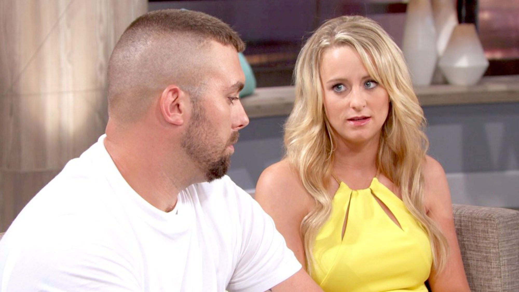 """teen mom stars Coparenting Corey Simms and Leah Messer - Short and sweet! """" Corey [ Simms ] and I, we have been co-parenting really well,"""" Leah Messer revealed on The Steve Harvey Show in April 2016."""