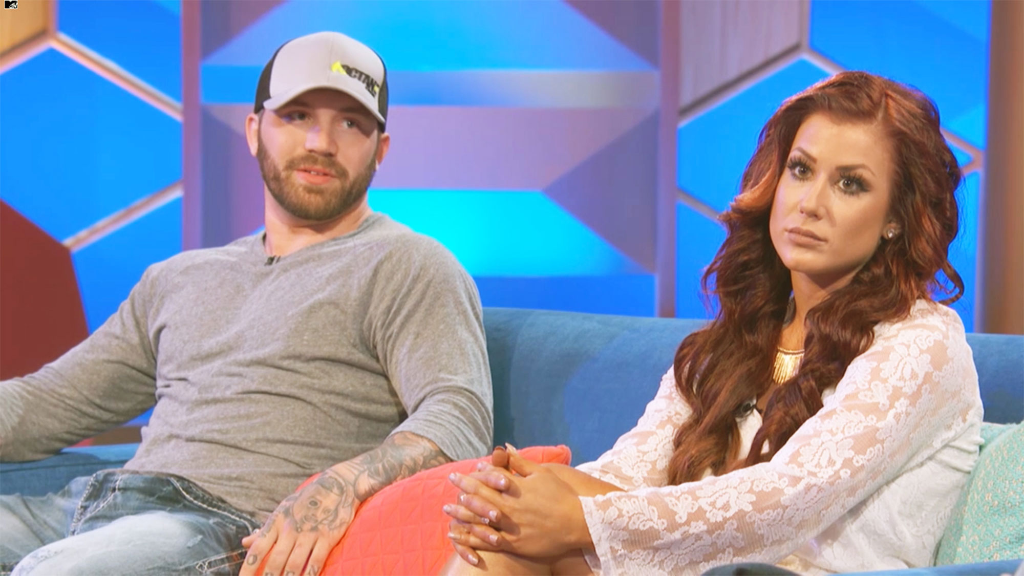 """teen mom stars Coparenting Chelsea Houska and Adam Lind - Chelsea Houska opened up about her coparenting plans with Adam Lind , who she shares daughter Aubree with. """"[I hope] that he would learn something from being in jail and being away from Aubree, grow up, stop getting in trouble and we could get along and he could see Aubree and she could be part of her sibling's life and that everyone would be happy,"""" the MTV personality told In Touch in May 2013."""