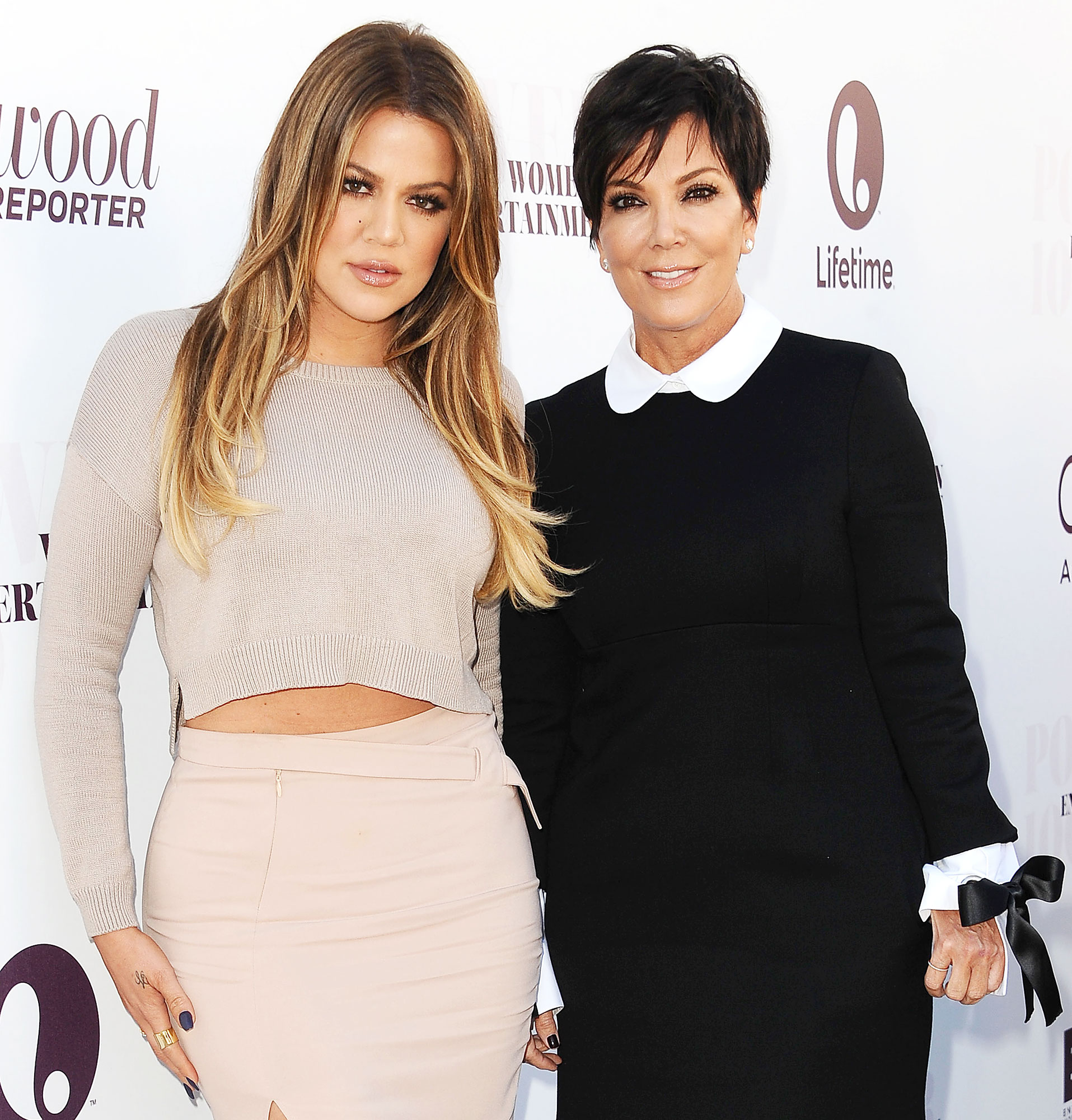 """Khloe Kardashian Jordyn Woods Tristan Thompson Cheating Scandal Kris Jenner Reacts - Kris broke her silence on the cheating scandal during an appearance on On Air With Ryan Seacrest . """"First of all, I pray about it,"""" the momager told Ryan Seacrest."""