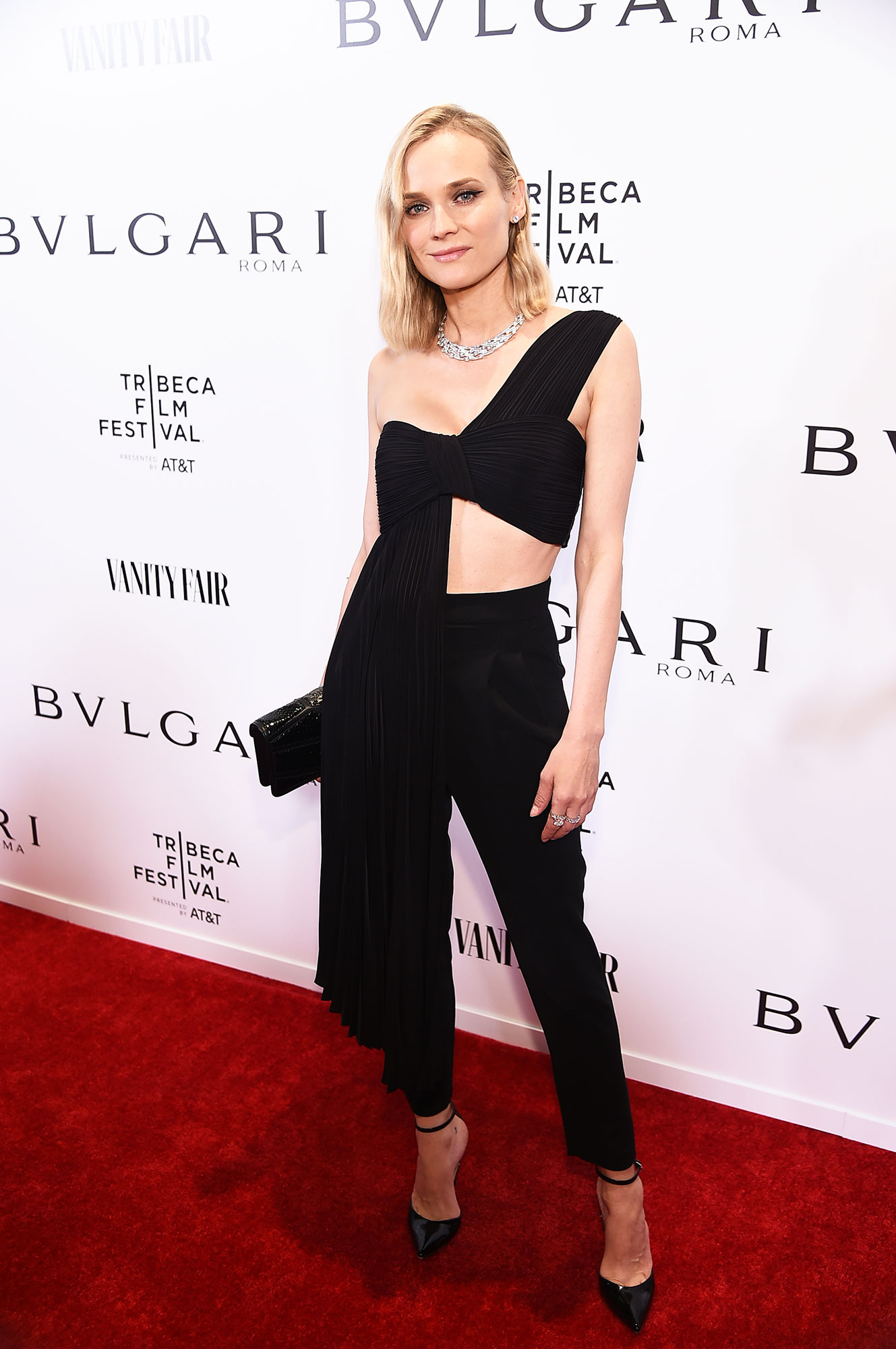 """Diane Kruger about last night - Diane Kruger attends BVLGARI World Premiere Of """"Celestial"""" And """"The Fourth Wave"""" at Spring Studios on April 23, 2019 in New York City."""