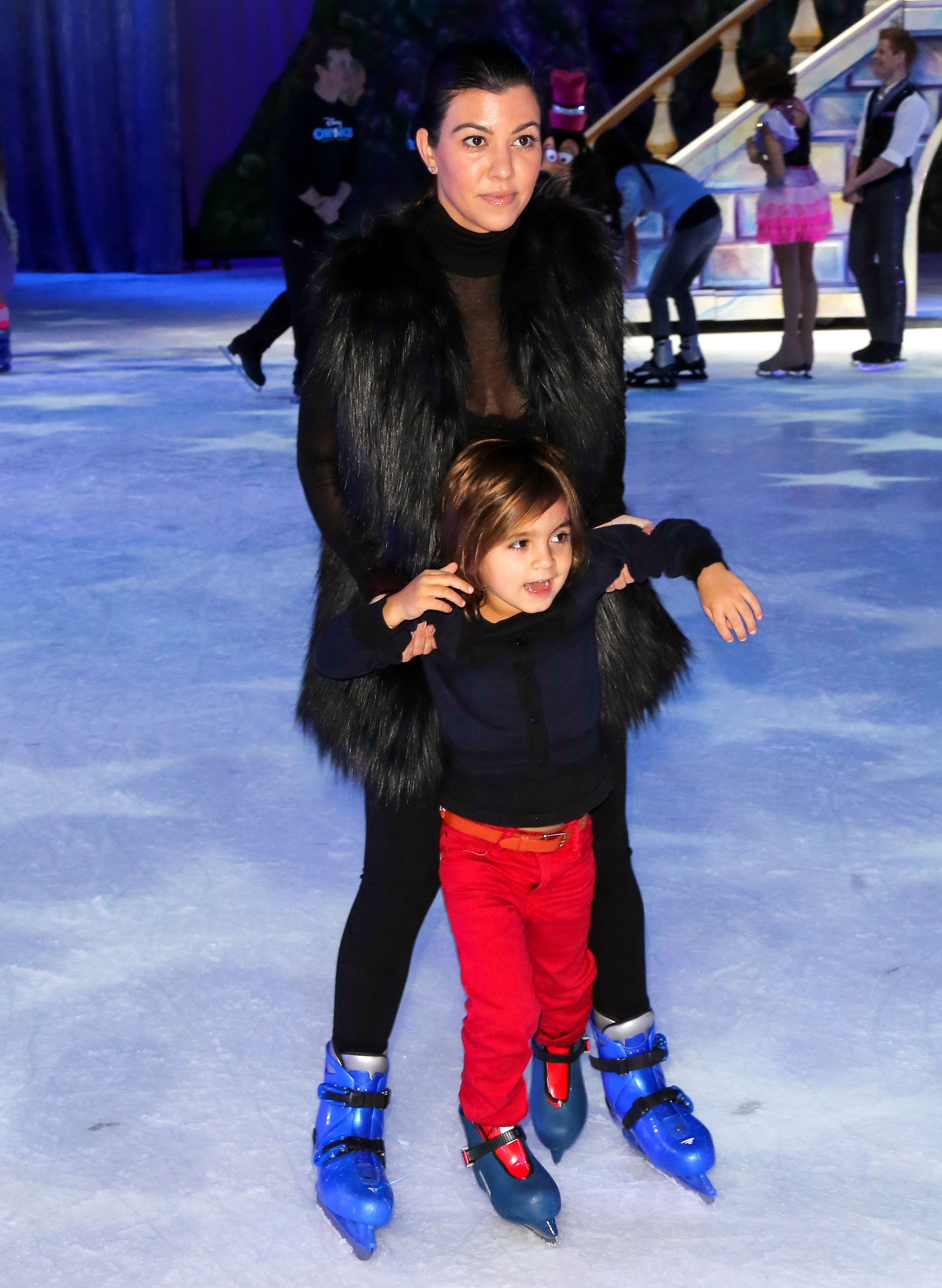 """Kourtney Kardashian Through the Years - After welcoming daughter Penelope in 2012, Kourtney told her sisters on an episode of KUWTK that having kids """"is what life is about."""""""