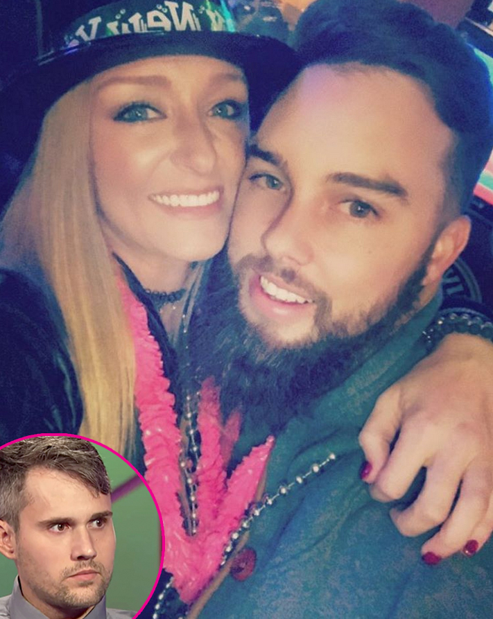 """10-Maci-Bookout-and-Taylor-McKinney-drama-with-Ryan-Edwards - Maci and Taylor filed for an order of protection against Ryan in March 2018 after Bentley's father allegedly threatened them. """"He has left voicemail messages threatening to show up at my house and take my son,"""" Maci wrote in court documents at the time."""