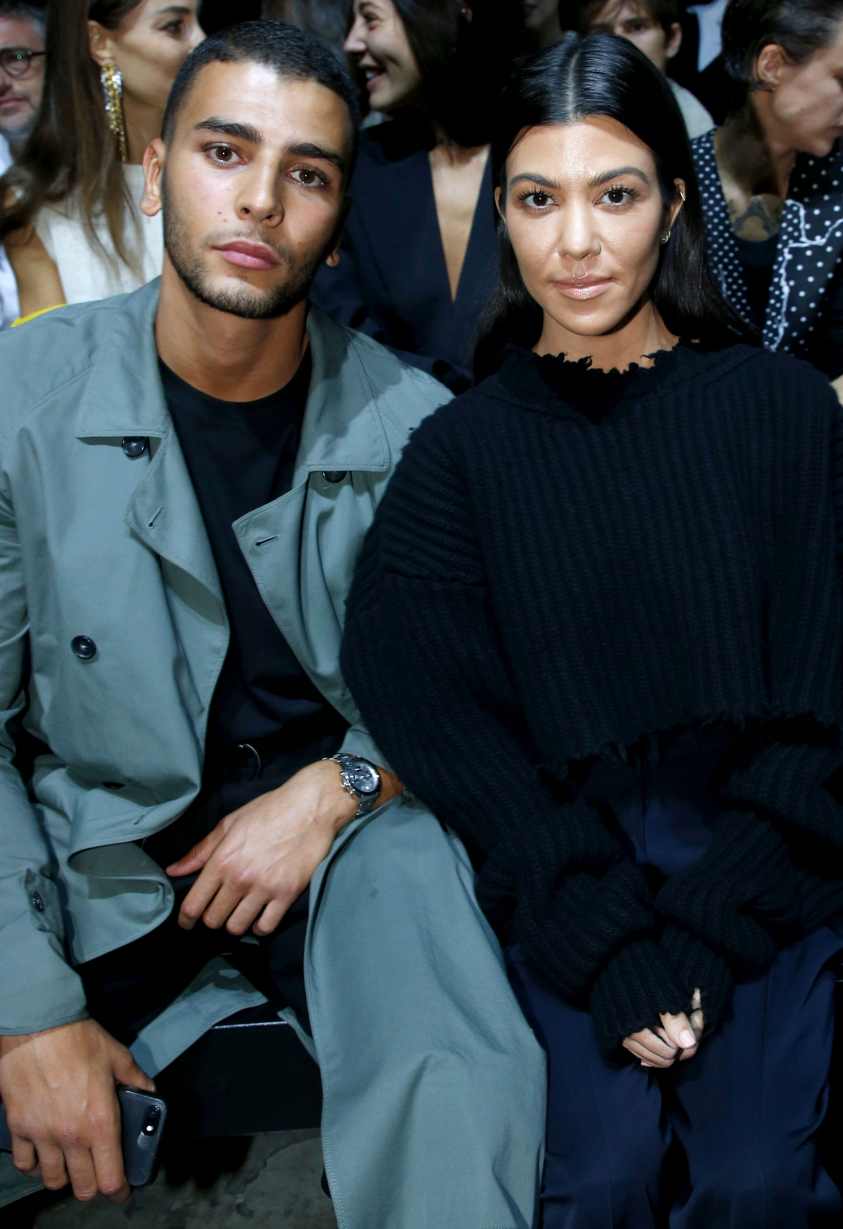 Kourtney Kardashian Through the Years - The Poosh founder's romance with Younes was hot and heavy in 2017.