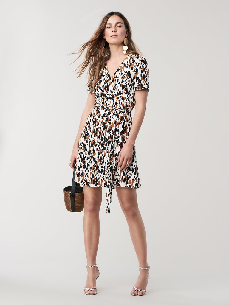 This Dvf Wrap Dress Is On Sale For Under 150 And Selling
