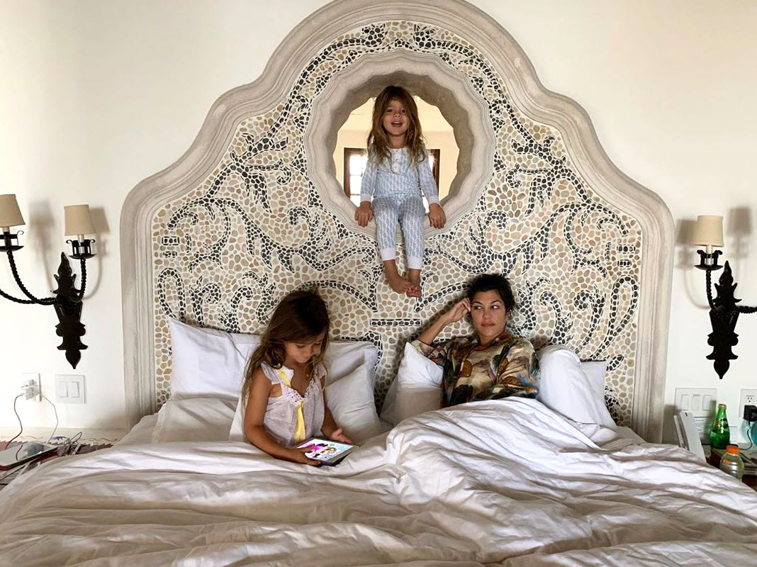 """Kourtney Kardashian Through the Years - Disick, Mason and Penelope wished their mother happy 40th birthday in April 2019 with a heartfelt message. """"We love you so much. We appreciate everything you do and do for us,"""" the Talentless designer gushed in a video released by E!"""