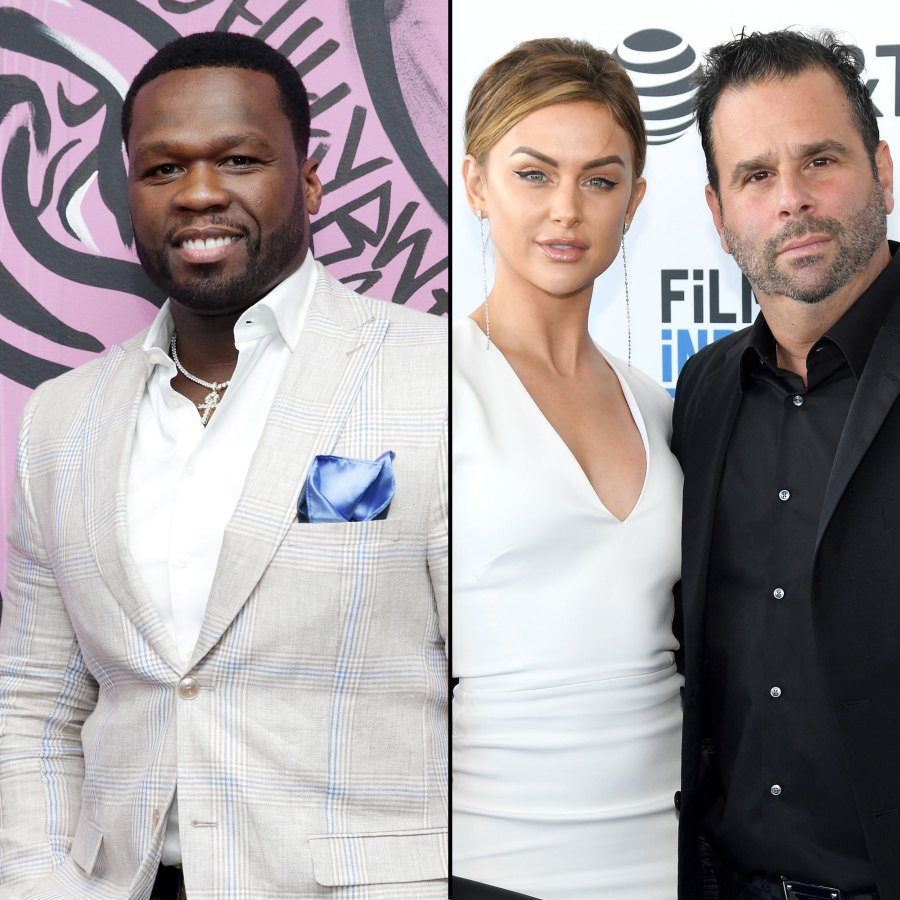 50 Cent Ends Feud Randall Emmett and Lala Kent