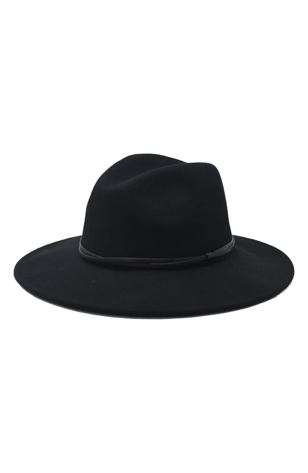 7 Black Panama Hats Inspired by Gigi Hadid¹s Œ90s Wedding Style - You really can't go wrong with this all-black-everything wool design. $59, nordstrom.com
