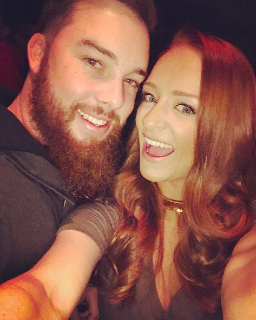"""8-Maci-Bookout-and-Taylor-McKinney-wedding - Maci and Taylor tied the knot in front of 165 guests and MTV cameras in Greenville, Florida, on October 8, 2016. """"I'm excited to finally be able to call Taylor my husband!"""" the reality star told Us at the time."""