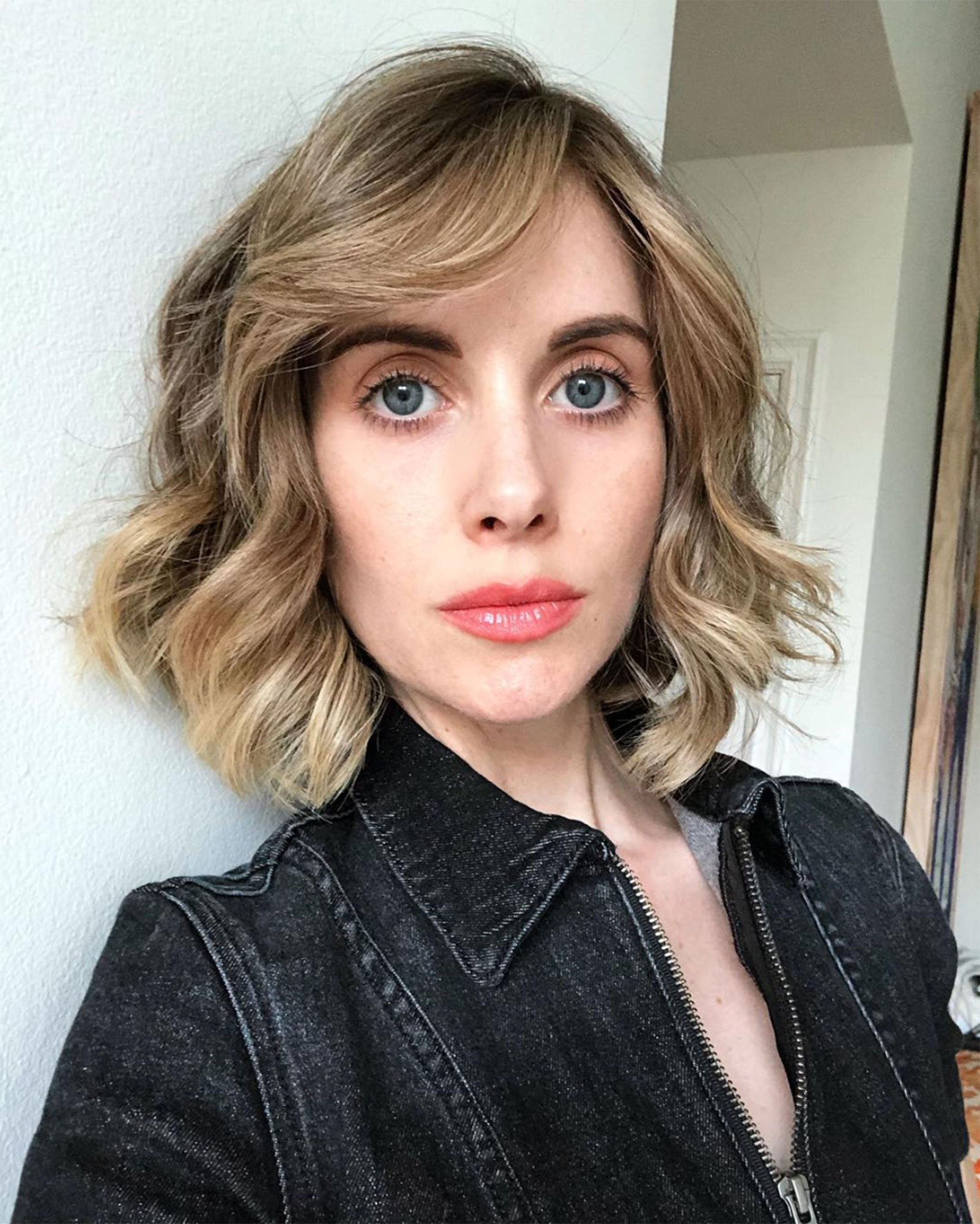 Alison Brie hairstyle hair transformation - Alison Brie