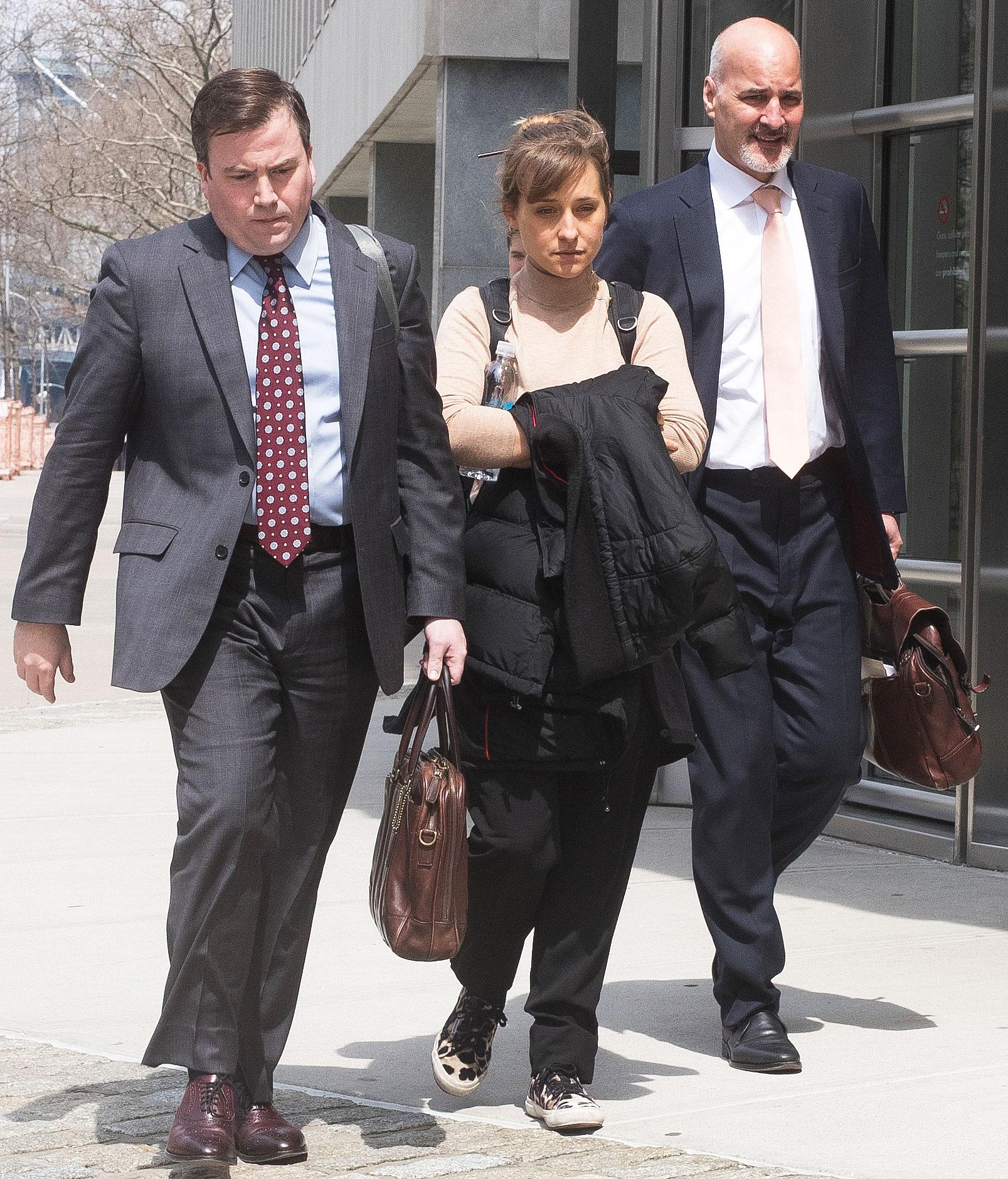 Allison Mack Guilty Plea NXIVM Sex Trafficking Case