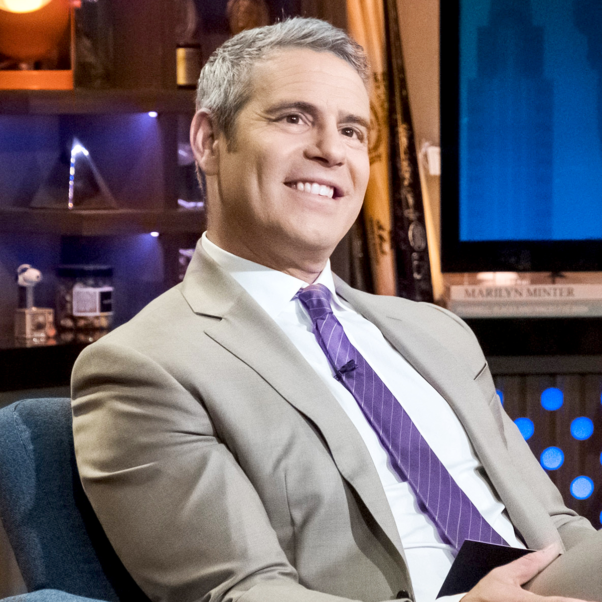 """Andy-Cohen - The Bravo producer spoke about the feud on the Sunday, April 28, episode of Watch What Happens Live With Andy Cohen . """"With Monday almost upon us and 50's Instagram posts not slowing down, I can't say how this will end, but I can say I've learned something,"""" Cohen said after attempting to explain the drama."""