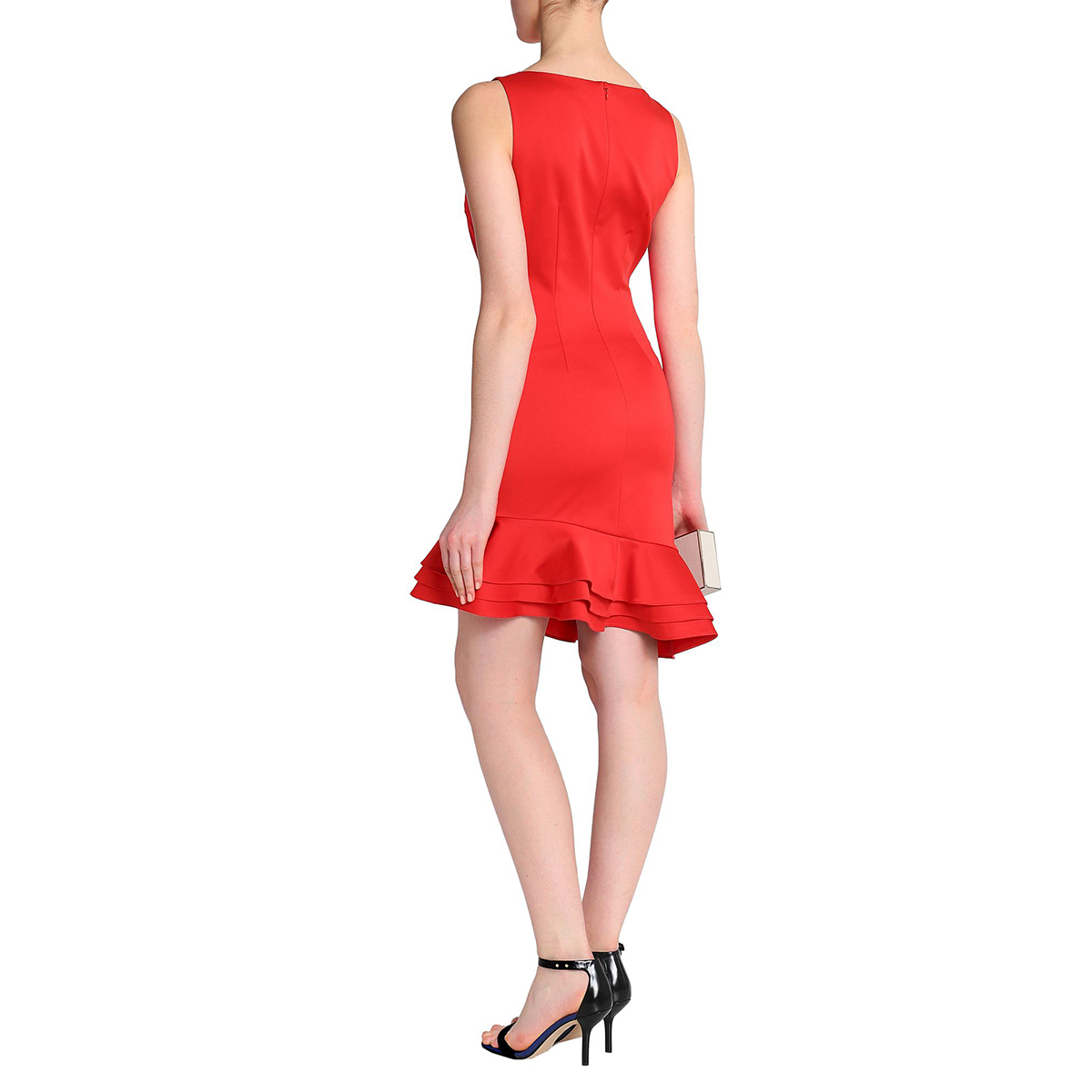 This Stunning Red Badgley Mischka Dress Is Over 50% Off