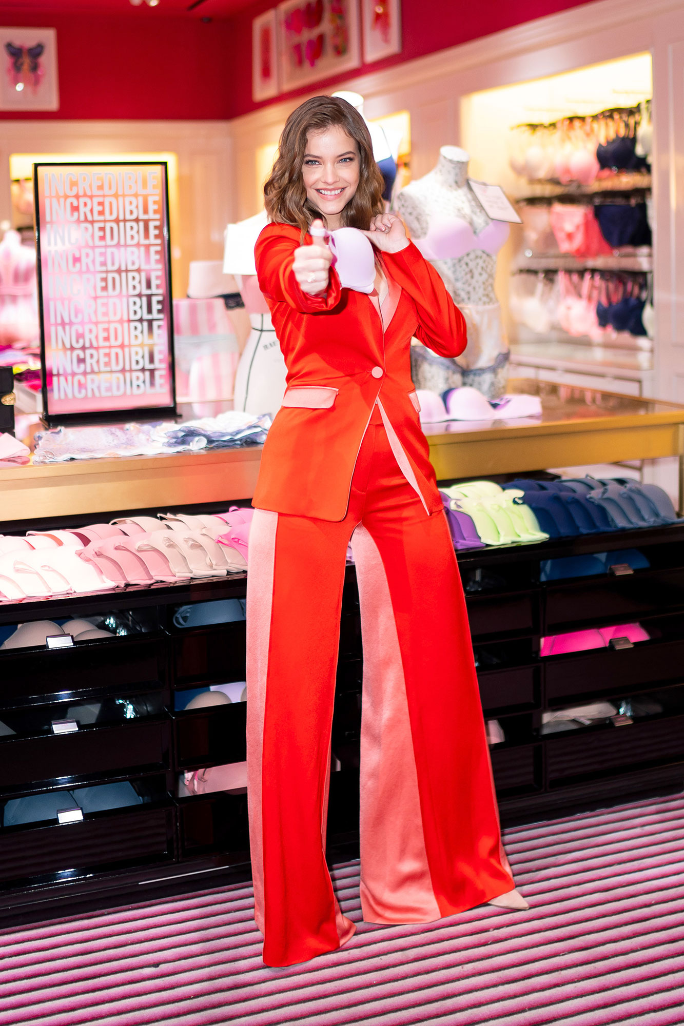Barbara Palvin Victorias Secret Angel - Angel Barbara Palvin launches New Incredible By Victoria's Secret Collection at Victoria's Secret 5th Avenue Store on April 16, 2019 in New York City.