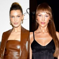 Bella Hadid Makes the Case for Spring Bangs