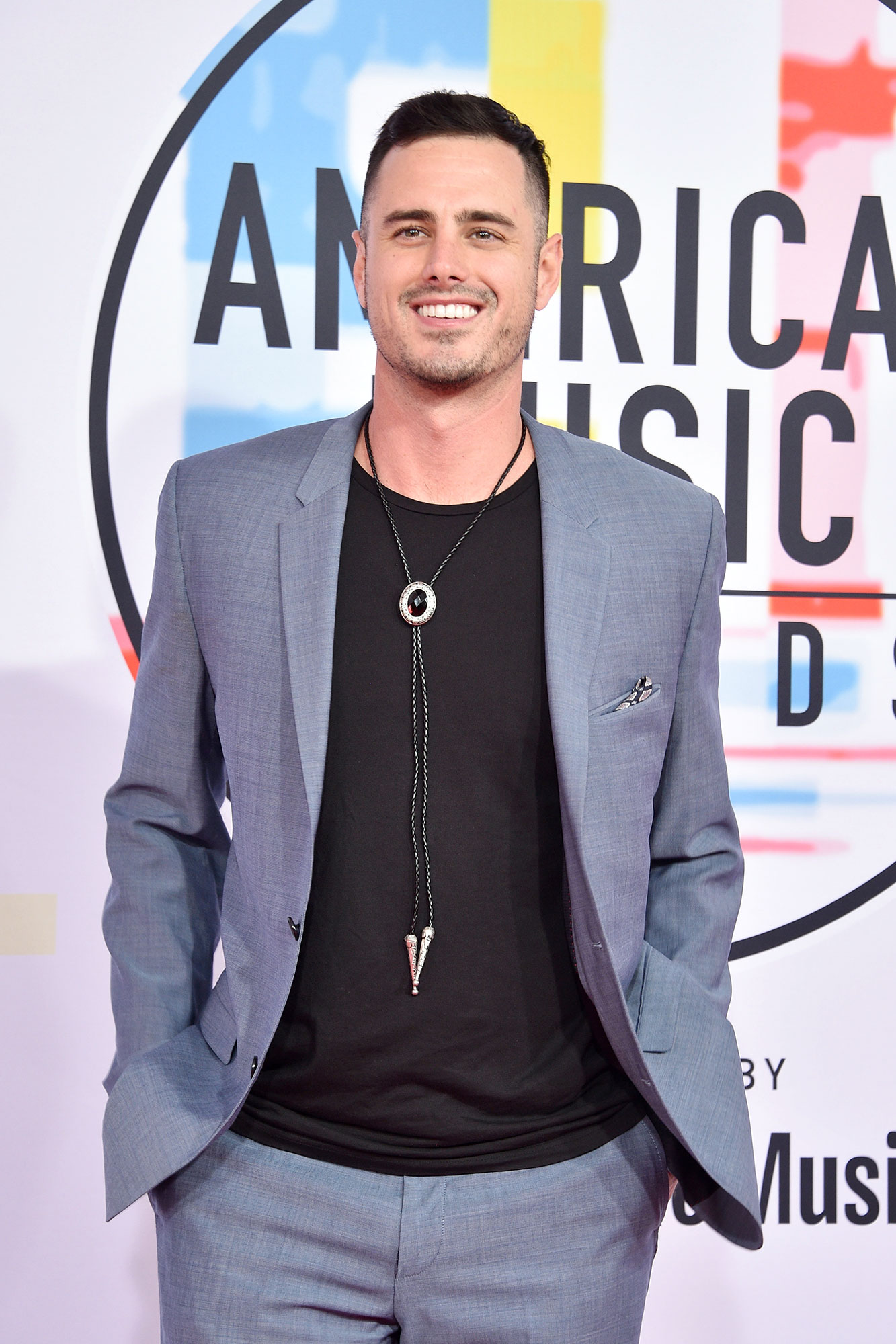 Ben Higgins: Hannah Brown Is Not 'Prepped' to Be The Bachelorette - Ben Higgins attends the 2018 American Music Awards at Microsoft Theater on October 9, 2018 in Los Angeles, California.