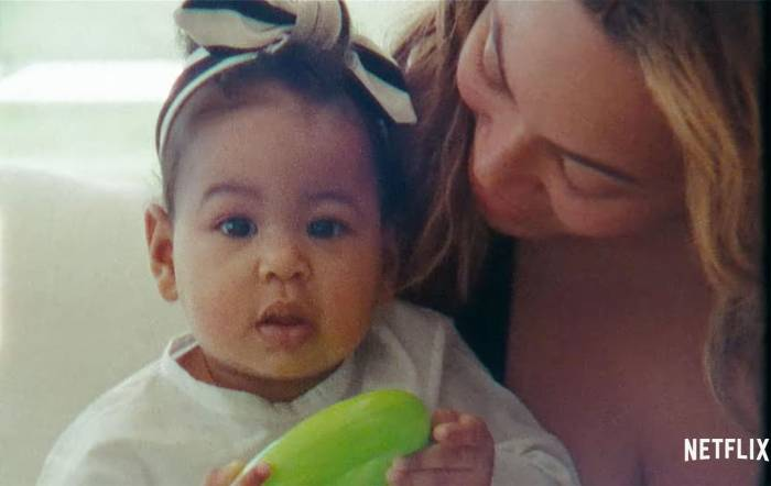 Beyonce Gives a Rare Glimpse of Twins Sir and Rumi