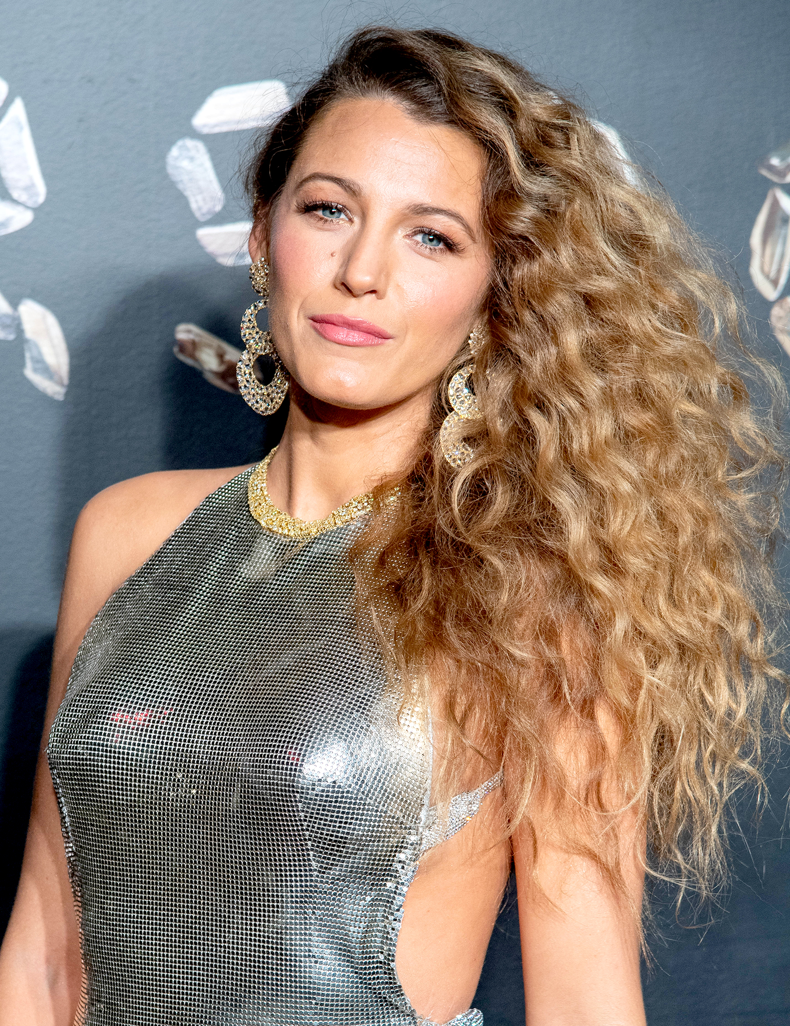 Blake-Lively-Devoted - NEW YORK, NEW YORK – DECEMBER 02: Blake Lively attends the the Versace fall 2019 fashion show at the American Stock Exchange Building in lower Manhattan on December 02, 2018 in New York City. (Photo by Roy Rochlin/Getty Images)