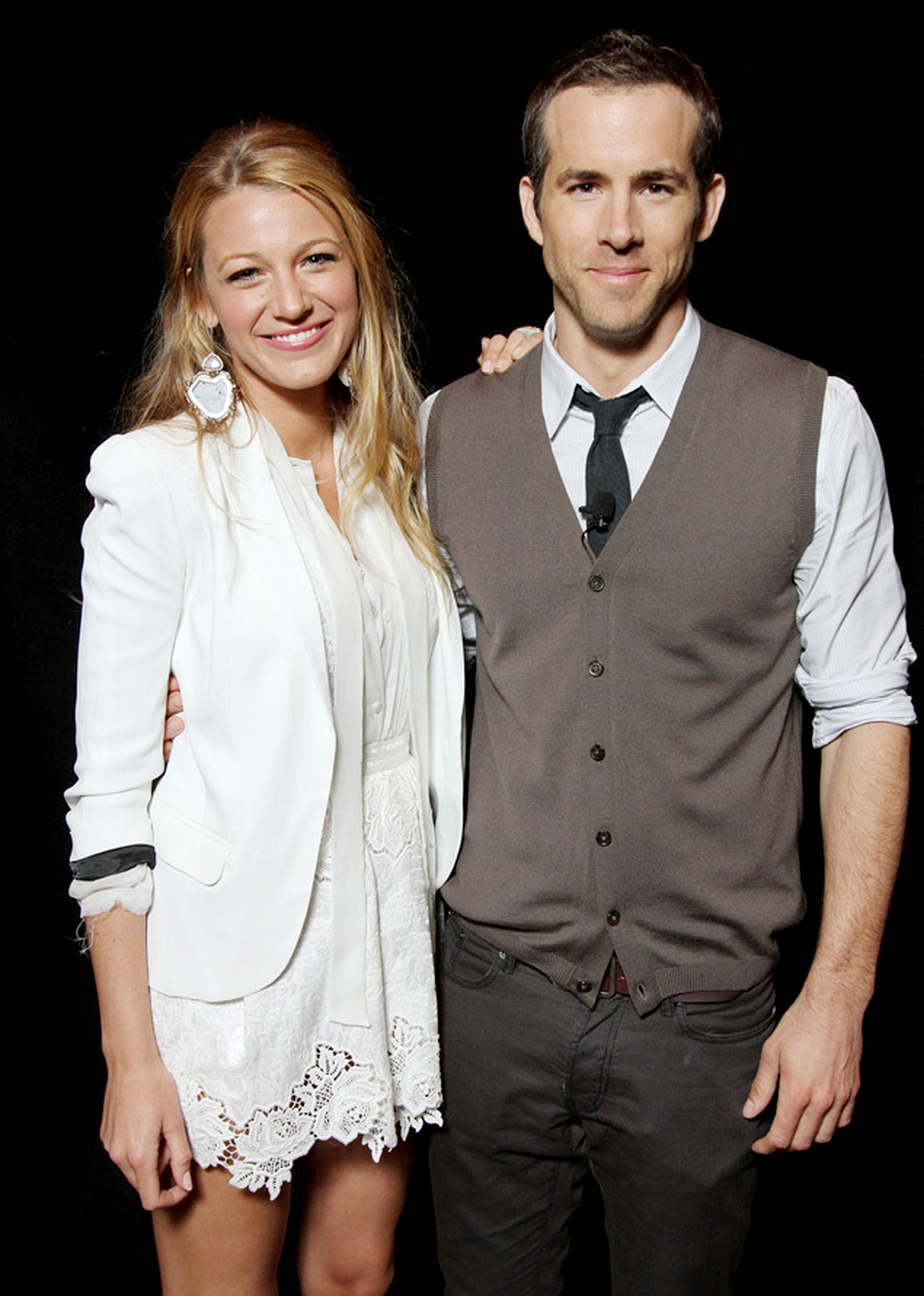 Blake-Lively-Ryan-Reynolds-March-31,-2011 - The costars posed for photographers at Warner Bros. Pictures Presentation of The Big Pictures 2011 at CinemaCon at Caesars Palace in Las Vegas, Nevada.