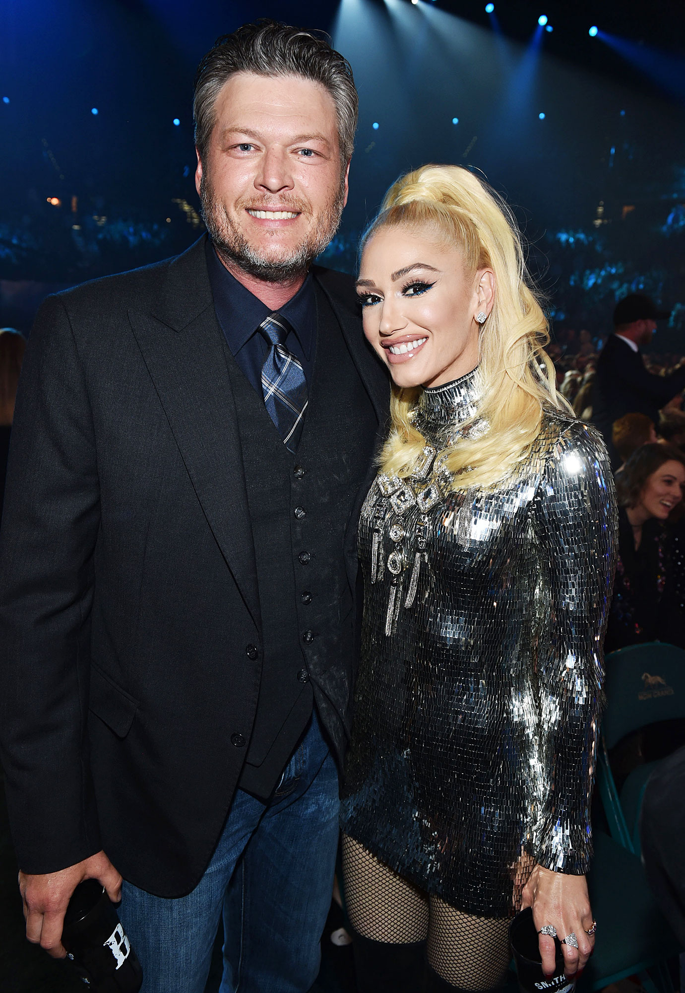 Inside ACM Awards 2019 Blake Shelton Gwen Stefani - Shelton and Stefani looked so in love during the occasion.