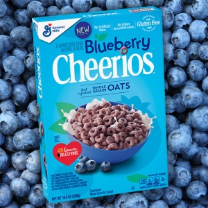 Blueberry Cheerios Are Here Just in Time for Spring