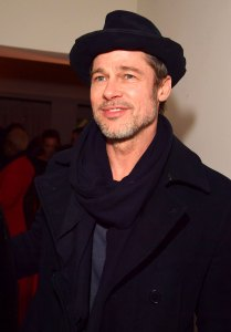 Brad Pitt Rallies Support at LACMA Hearing in Los Angeles