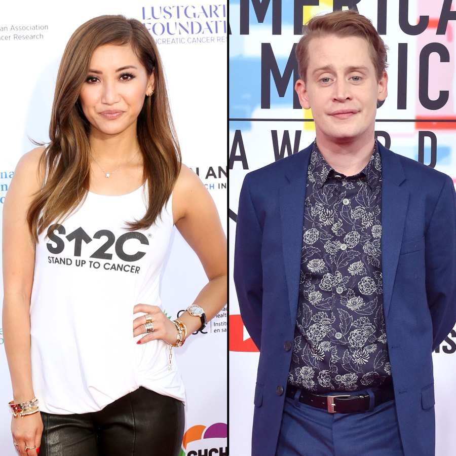 Brenda Song and Macaulay Culkin Bond Over Being Child Actors