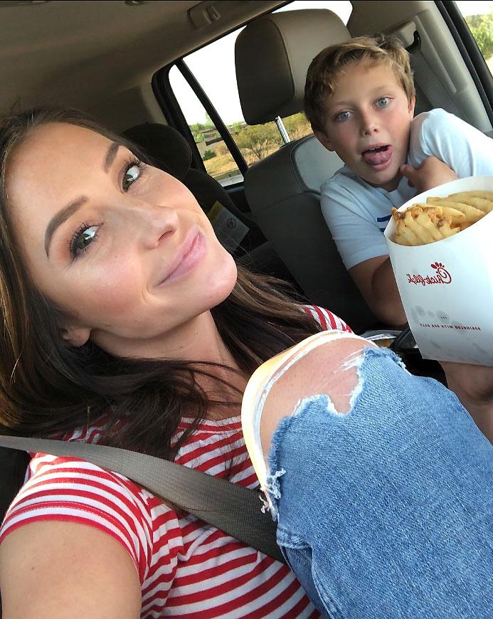 Bristol Palin and Son Instagram