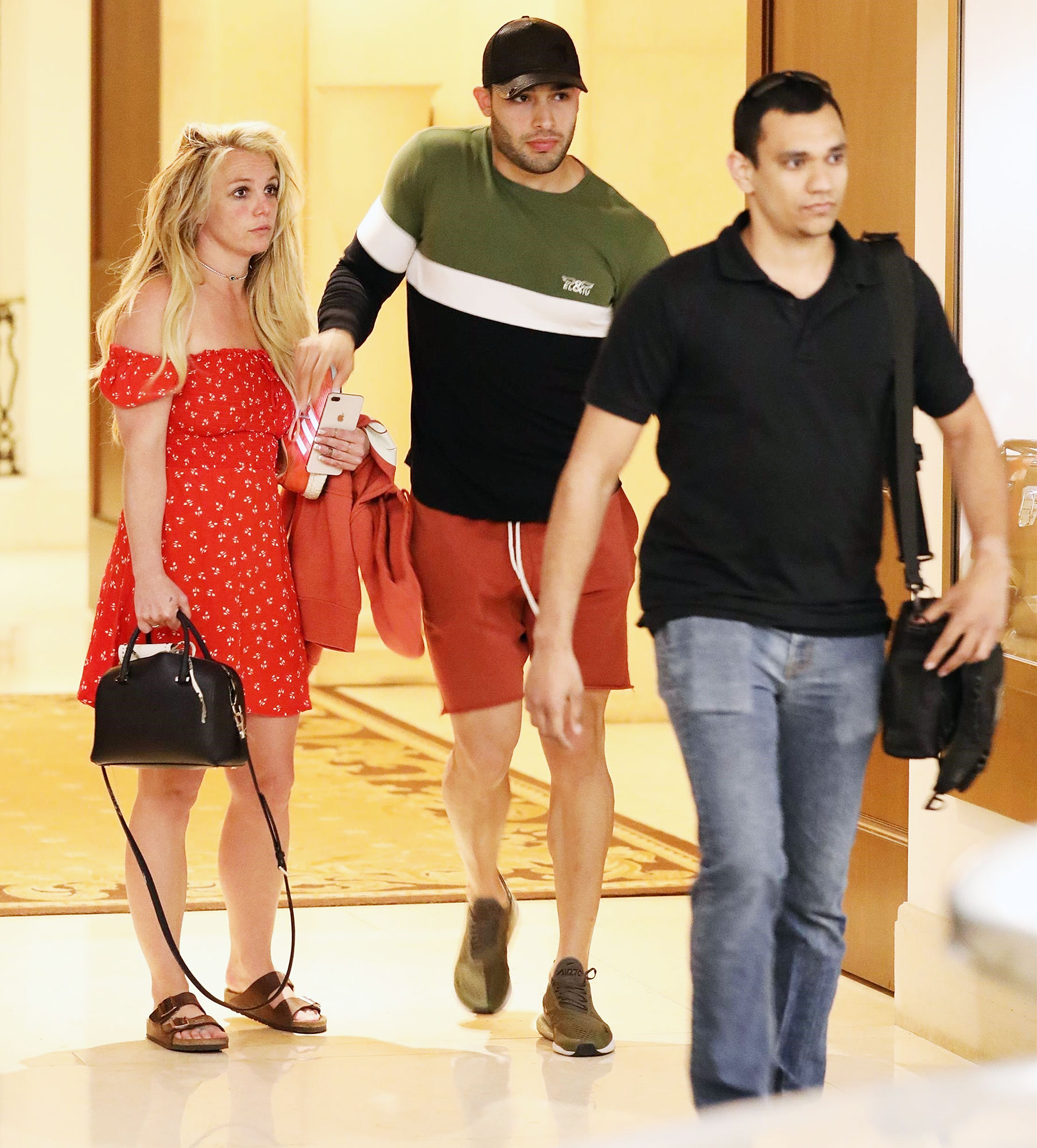 Britney Spears Sam Asghari Easter Mental Health Treatment