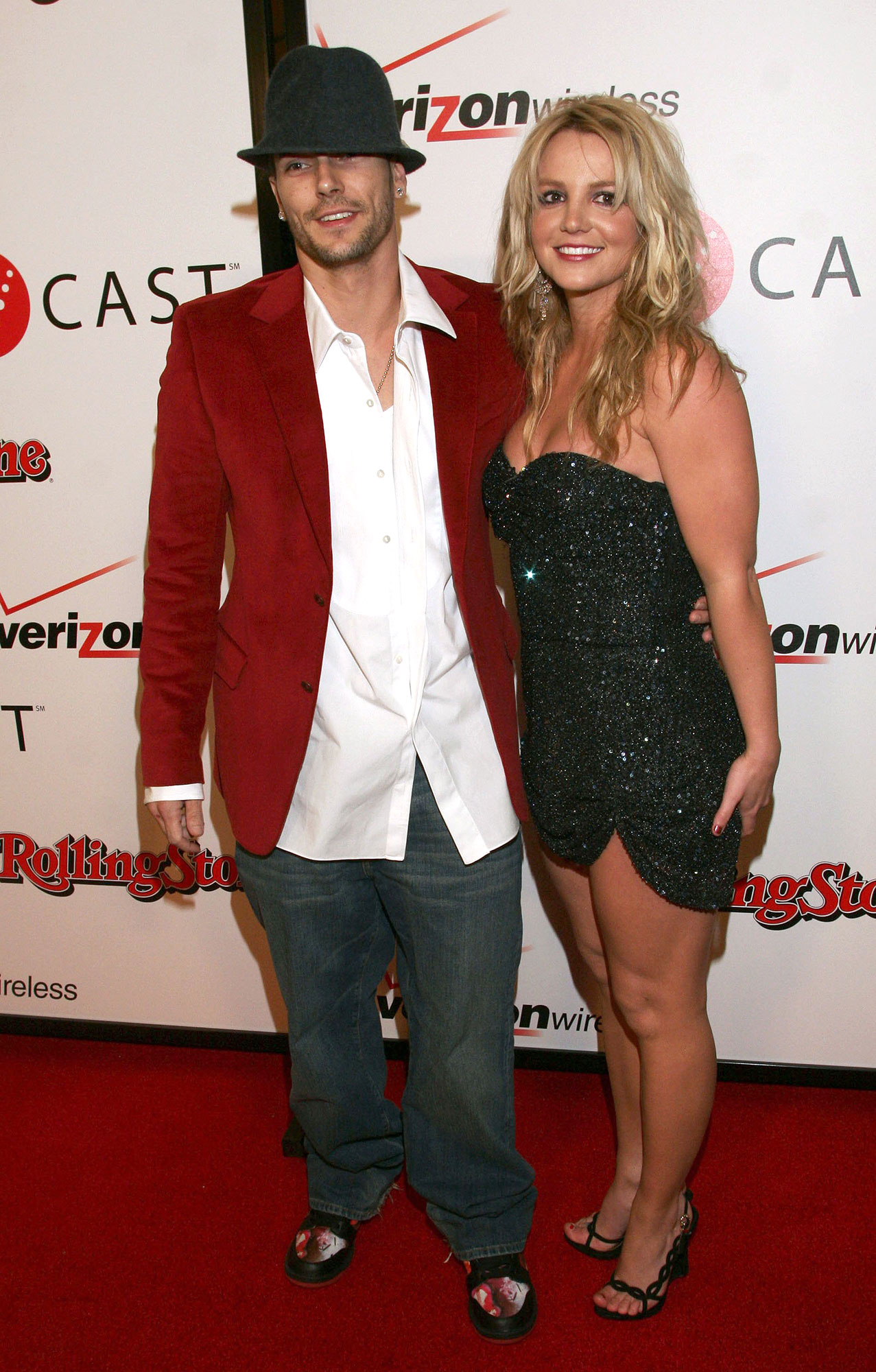 Celebrity Couples Who Got Engaged and Married in the Same Year - Engaged: June 2004 Married: October 6, 2004 Status: Divorced in July 2007 and share sons Preston and Jayden; Spears is dating Sam Asghari and Federline is married to Victoria Prince