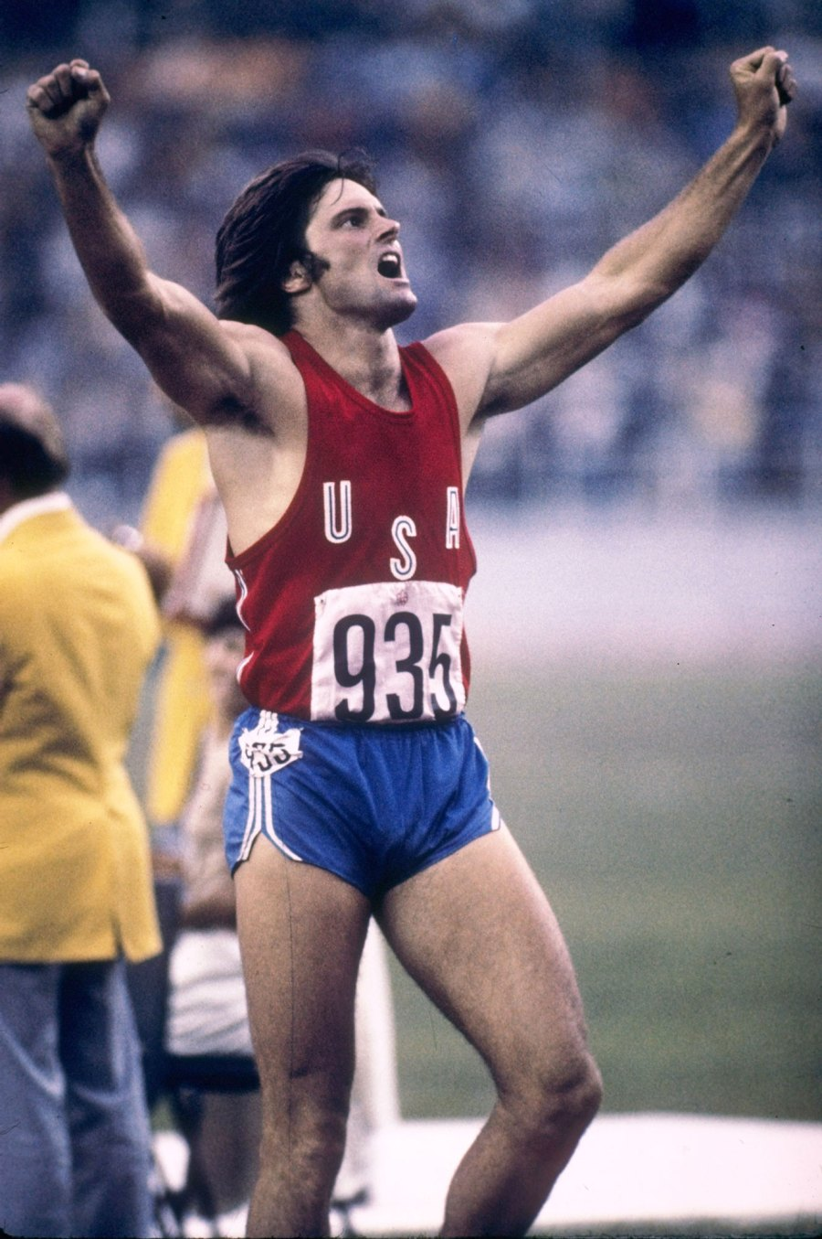 Bruce Jenner Then Olympic Athletes Now and Then Gallery