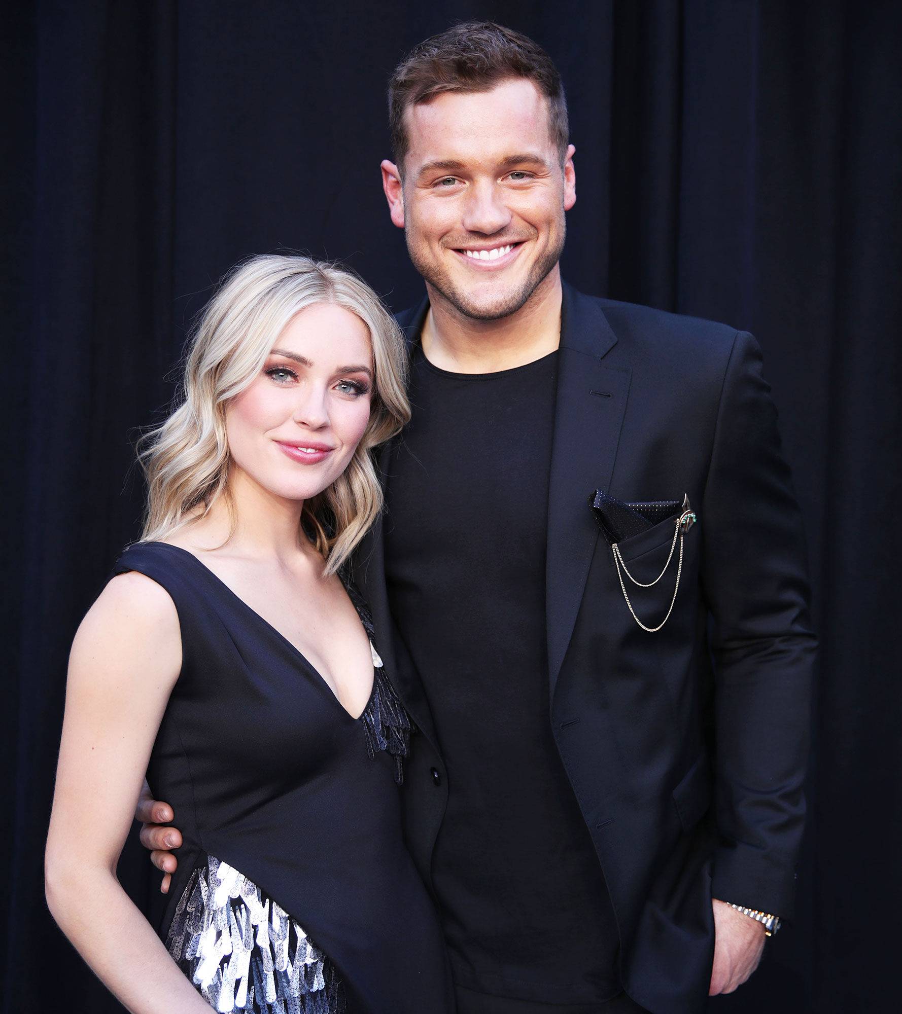 Caelynn Miller-Keyes Apartment Cassie Randolph Colton Underwood - Cassie Randolph and Colton Underwood attend the 54th Academy of Country Music Awards at MGM Grand Garden Arena in Las Vegas on April 7, 2019.