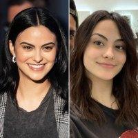 Camila Mendes haircolor hairstyle black hair brown hair